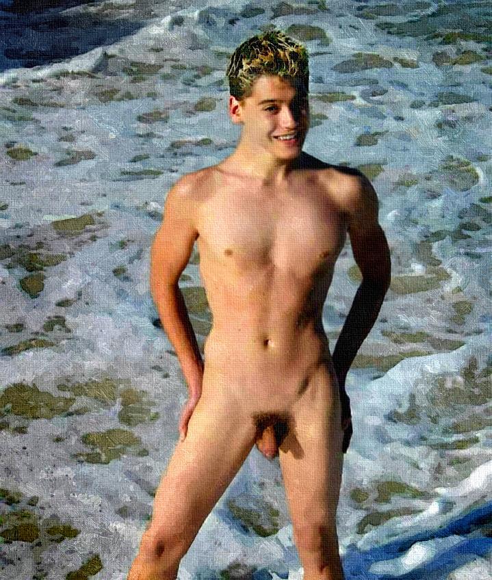naked blonde australian boy